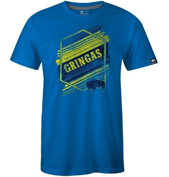 Camiseta Importada Gringa´s Work Wear Stand Up Charcoal