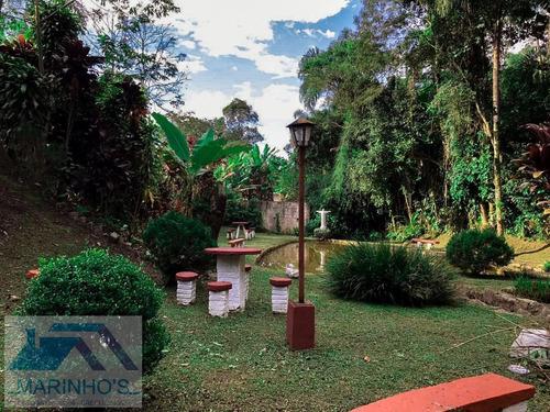 Chácara Para Venda Em Ribeirão Pires, Ouro Fino, 3 Dormitórios, 3 Suítes, 5 Banheiros - 265_1-1554860