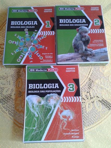 Coleção De Biologia ( Amábis E Martho )