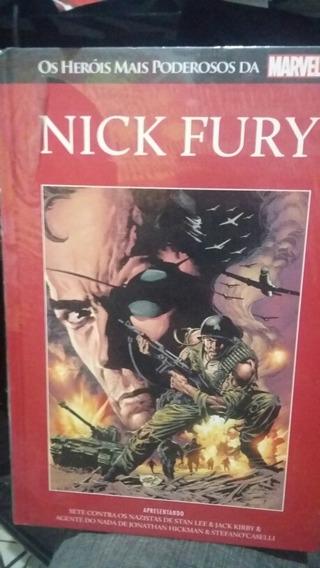 Nick Fury - Salvat - Vermelha