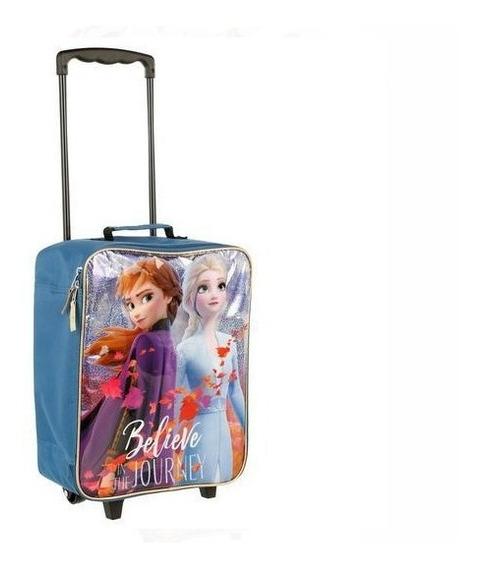 Frozen Il Maleta Valija Infantil Carry On Dos Ruedas Disney