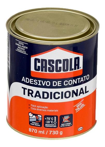 Adesivo De Contato Tradicional S/ Toluol 730g Cascola