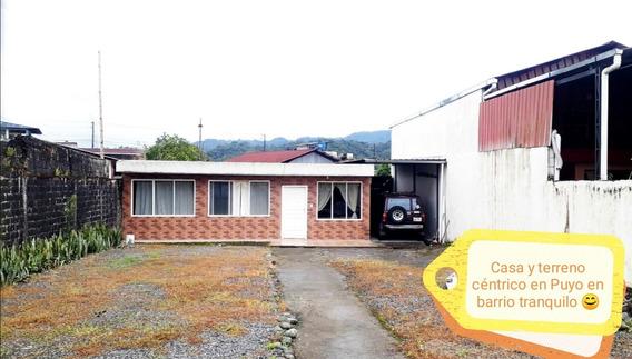 Hermosa Casa Y Terreno Céntrico En La Ciudad De Apuyo
