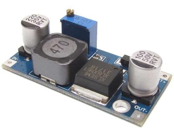 Fonte Regulável Xl6009 Dc-dc Step-up Boost Para Arduino Pic