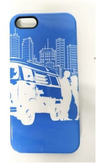Capa De Celular iPhone 5 E 5s Vw Kombi Apr057001fv