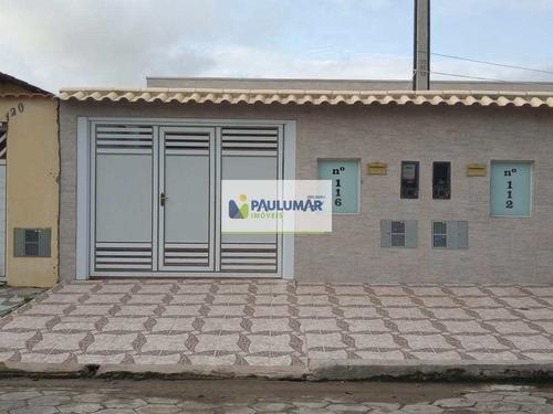 Casa Com 2 Dorms, Vera Cruz, Mongaguá - R$ 280 Mil, Cod: 829642 - V829642