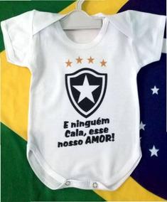 Body Em Ribana Personalizado Botafogo-estica