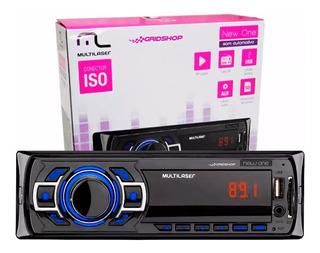 Radio Mp3 Player Mutlilaser New One C/ Fm Usb Sd Aux - P3318