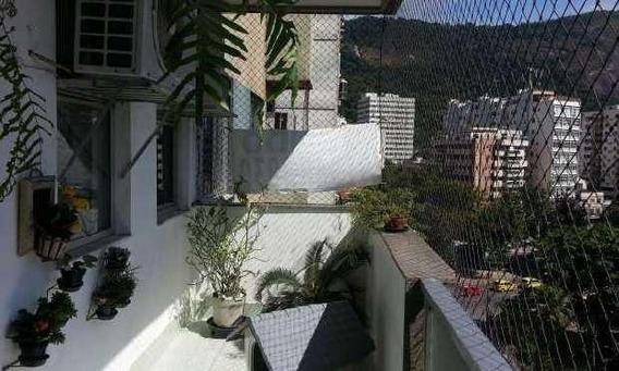 Apartamento Em Humaitá, Rio De Janeiro/rj De 145m² 3 Quartos À Venda Por R$ 1.390.000,00 - Ap14024