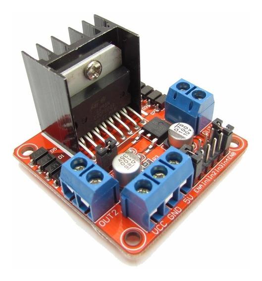 Modulo Ponte H L298n 2 Canais De 2a Dc Para Arduino