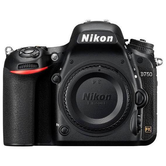 Câmera Reflex Nikon D750 3.2 Fx Cmos Leia O Anuncio!