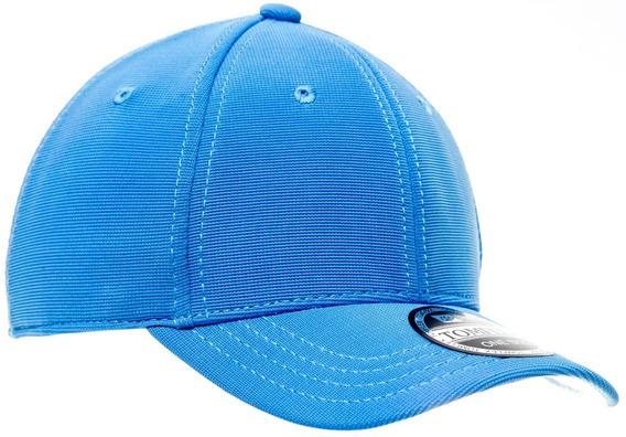 Bombeta Infantil Tomflex Azul Claro Aba Curva Aberto