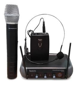 Izuum - Micrófono Inalámbrico + Micrófono Headset