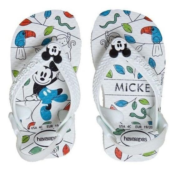 Ojotas Havaianas Baby Mickey