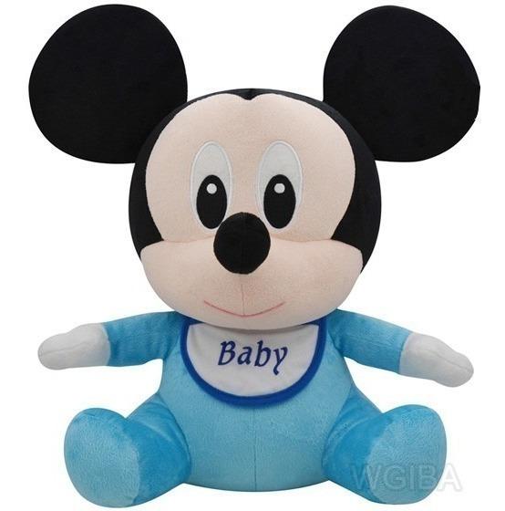 Pelucia Mickey Baby Antialergico Lançamento Original Disney