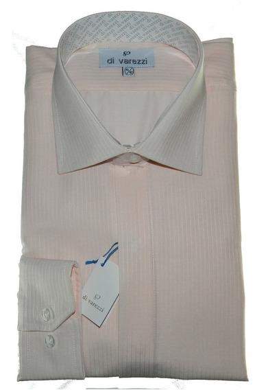 Camisa Vestir Ratier Cartera Oculta Di Varezzi Vestir Bordo