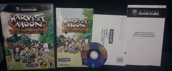 Harvest Moon : A Wonderful Life - Original - Game Cube