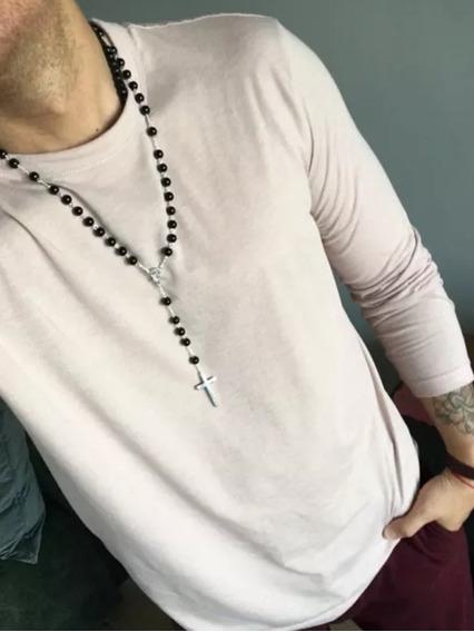 Terço Tipo David Beckham Neymar Rosario Dolce & Gab 925