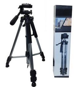 Tripé Filmadora Fotográfica Profissional Canon Sony 1,50 Mt