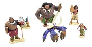 Set De Figuras Moana Disney Collection