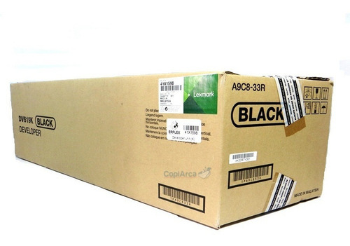 Imagen 1 de 3 de Lexmark Cs921 Cx920 Cx924 Unidad Revelado Negro 41x1598
