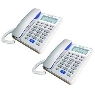 Combo X 2 Telefono Telefonos Fijo Panacom Manos Libres Envio