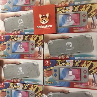 Nintendo Switch Lite Pokemon Edition En Stock Ya Real Nuevas
