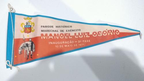Antiga Flamula Parque Exército Histórico Manuel Luiz Osório