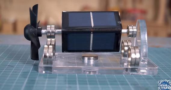 Motor De Mendocino!(motor Solar Flutuante)(cientifico!)