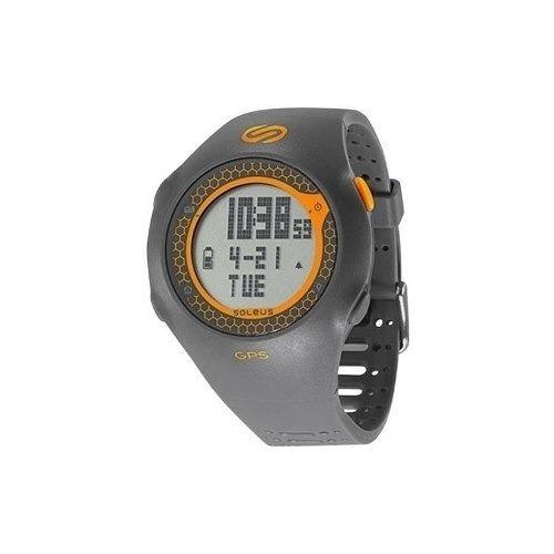 Sóleo - Gps Watch - Gris Naranja