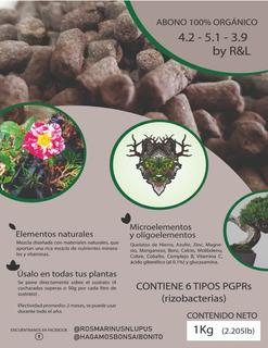 1 Kg Abono 100% Orgánico Para Bonsai