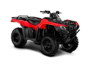 Honda Trx 420 Tm 4x4 0 Km 2018 Nuevo Rojo Moto Sur