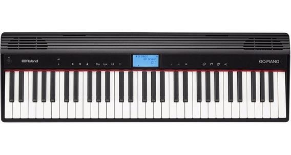Teclado Roland Go Piano Go61p Go-61p C/ Bluetooth Go61