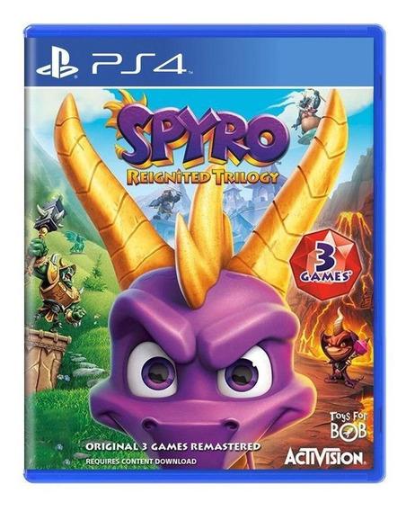 Spyro Reignited Trilogy Ps4 Mídia Física Pronta Entrega