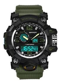 Relógio Masculino Sanda 742 G-shock Analógico Digital Esport