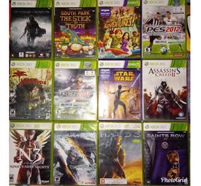 Pacote De 3 Jogos Xbox 360 Original Midia Fisica