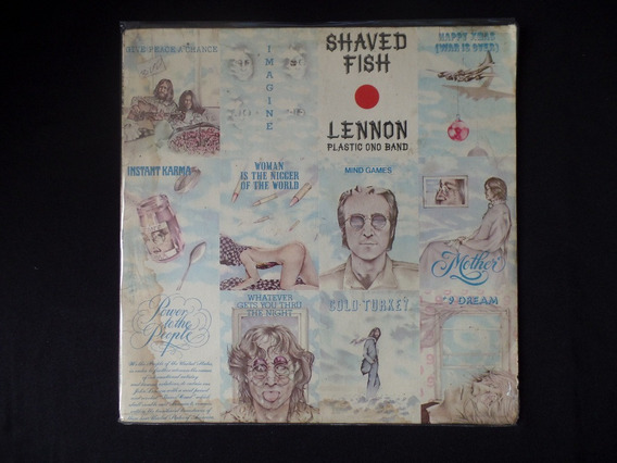 John Lennon / Plastic Ono Band - Shaved Fish - Lp