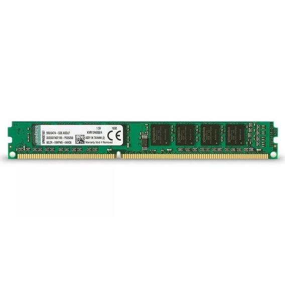 Memoria Ram Pc Kingston 4gb Ddr3 1600 Mhz Envio 2