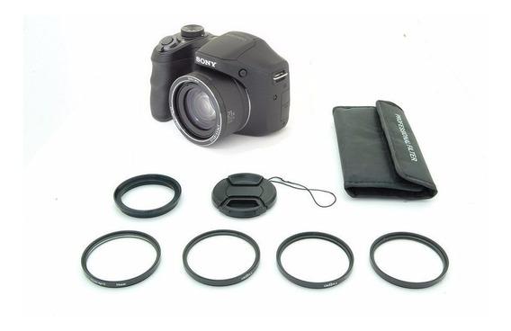 Kit Lentes Macro Sony Dsc H100 H100v 1+ 2+ 4+ 10+ 58mm