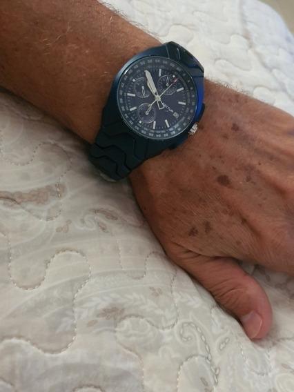 Relógio Sector Pulseira Alumínio Azul