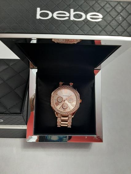 Reloj Dama Marca Bebé Original En Su Estuche