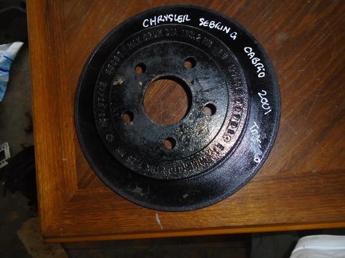 Vendo Disco De  Freno Trasero  De Chrysler Sebring Cabrio