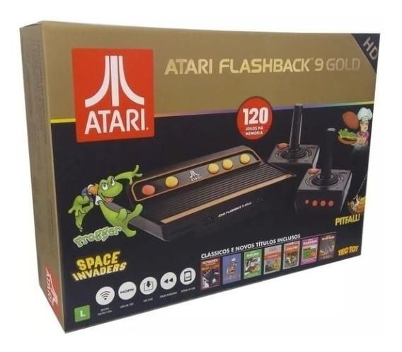Console Atari Flashback 9 Gold Tectoy Com 120 Jogos