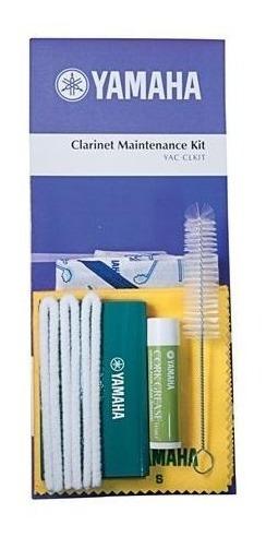Imagem 1 de 6 de Kit De Limpeza Yamaha Cl-m Para Clarinet Kit 6 Produtos