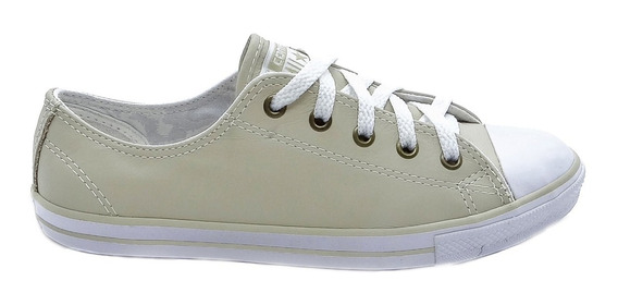 Tênis Converse All Star Ct As Dainty Leather Ox Cru Ce003200