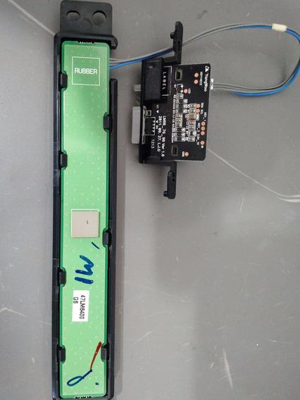Teclado Placa Receptor Ir Tv Lg 55lm6700