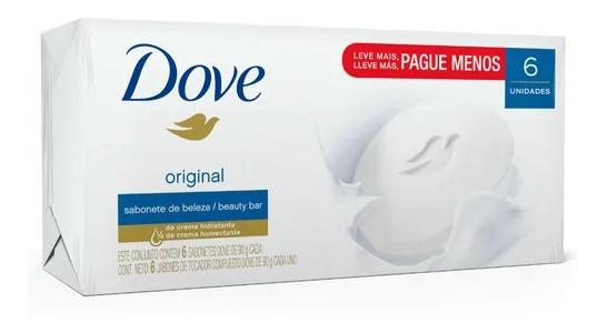 Kit Sabonete Dove Original 90g - 12 Unidades