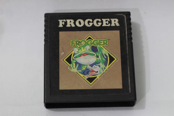 Jogo Frogger Konami 1981 Nacional Atari 2600 Cce Frete R$12