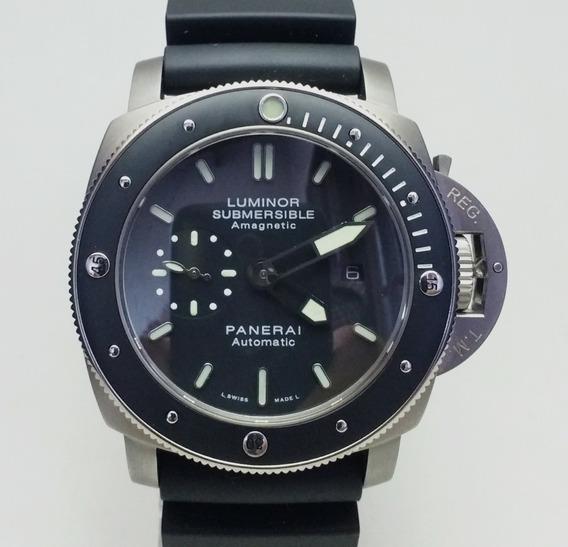 Relógio Submersible Titânio 47mm Automático