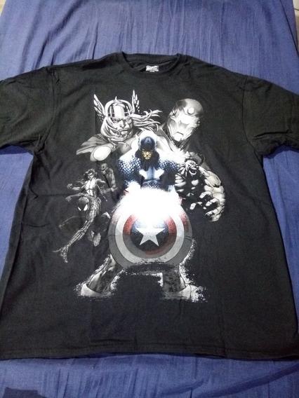 Camiseta De Los Avengers Original Importada Talle Lg/g/g